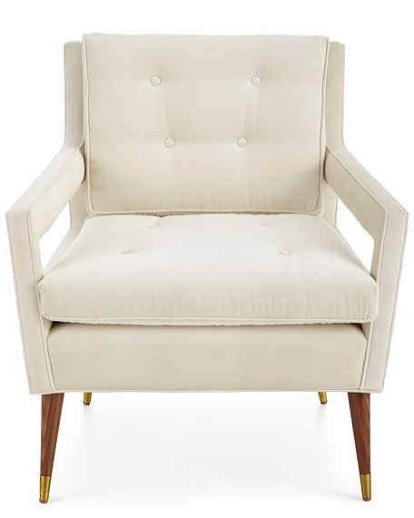 Tufted-Back Chair
