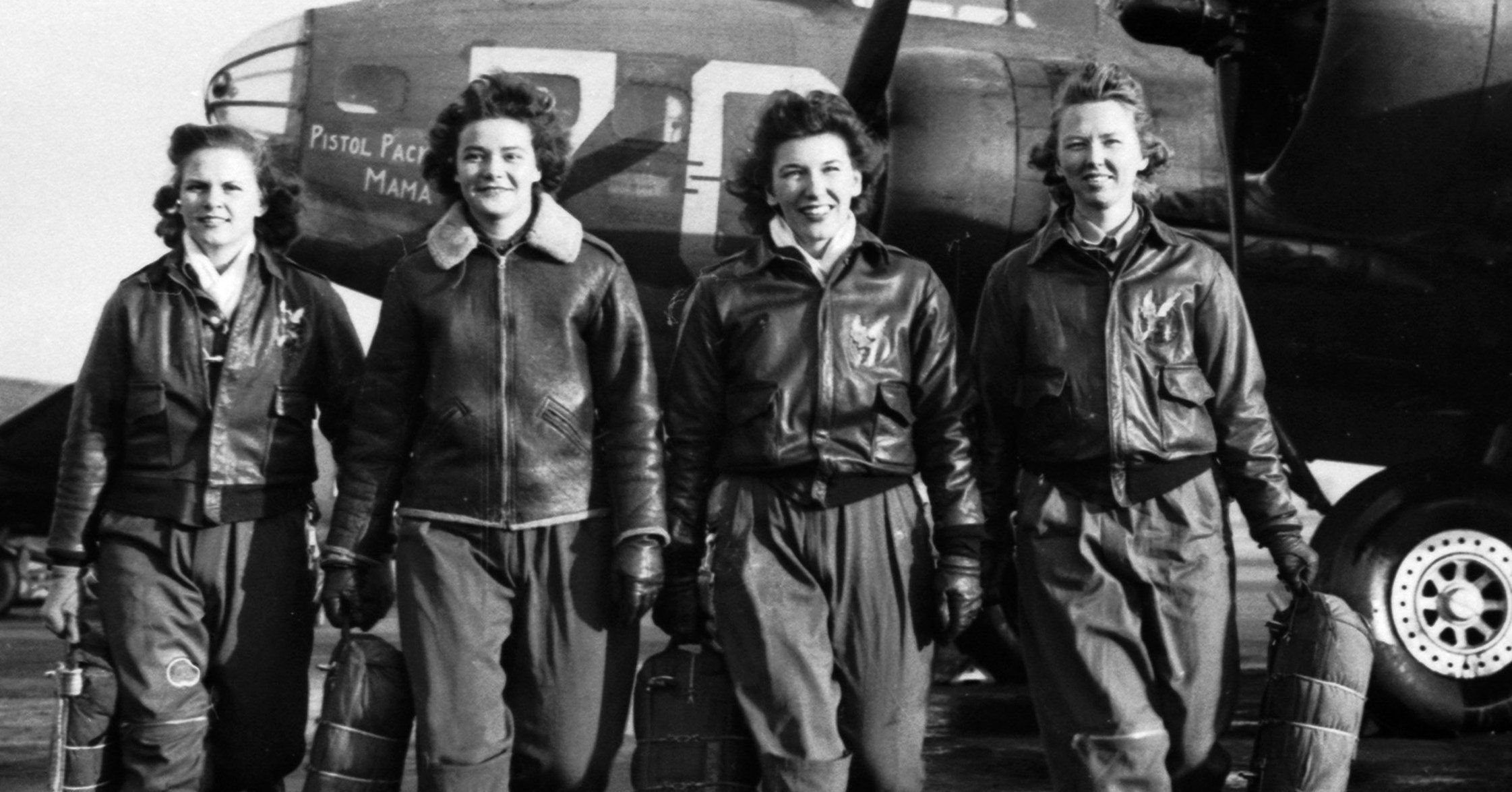 Women Airforce Service Pilots finally allowed to be buried