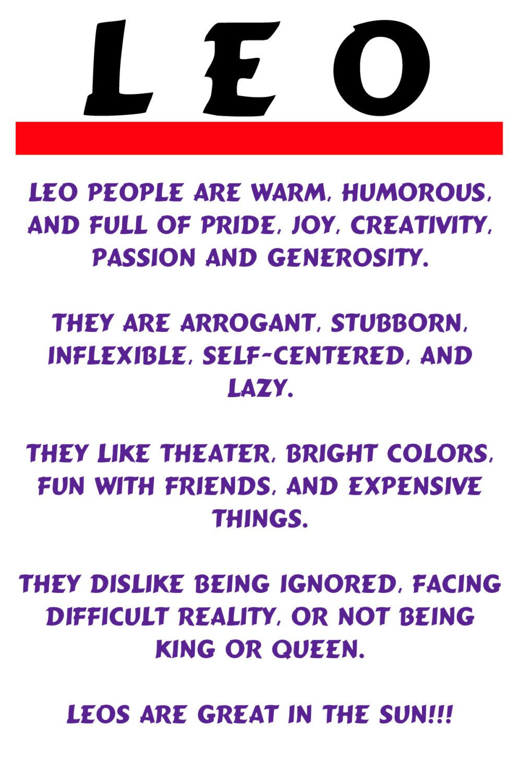 Funny Quotes About Leos Quotesgram Leo Zodiac Quotes Leo Horoscope Leo Zodiac Facts