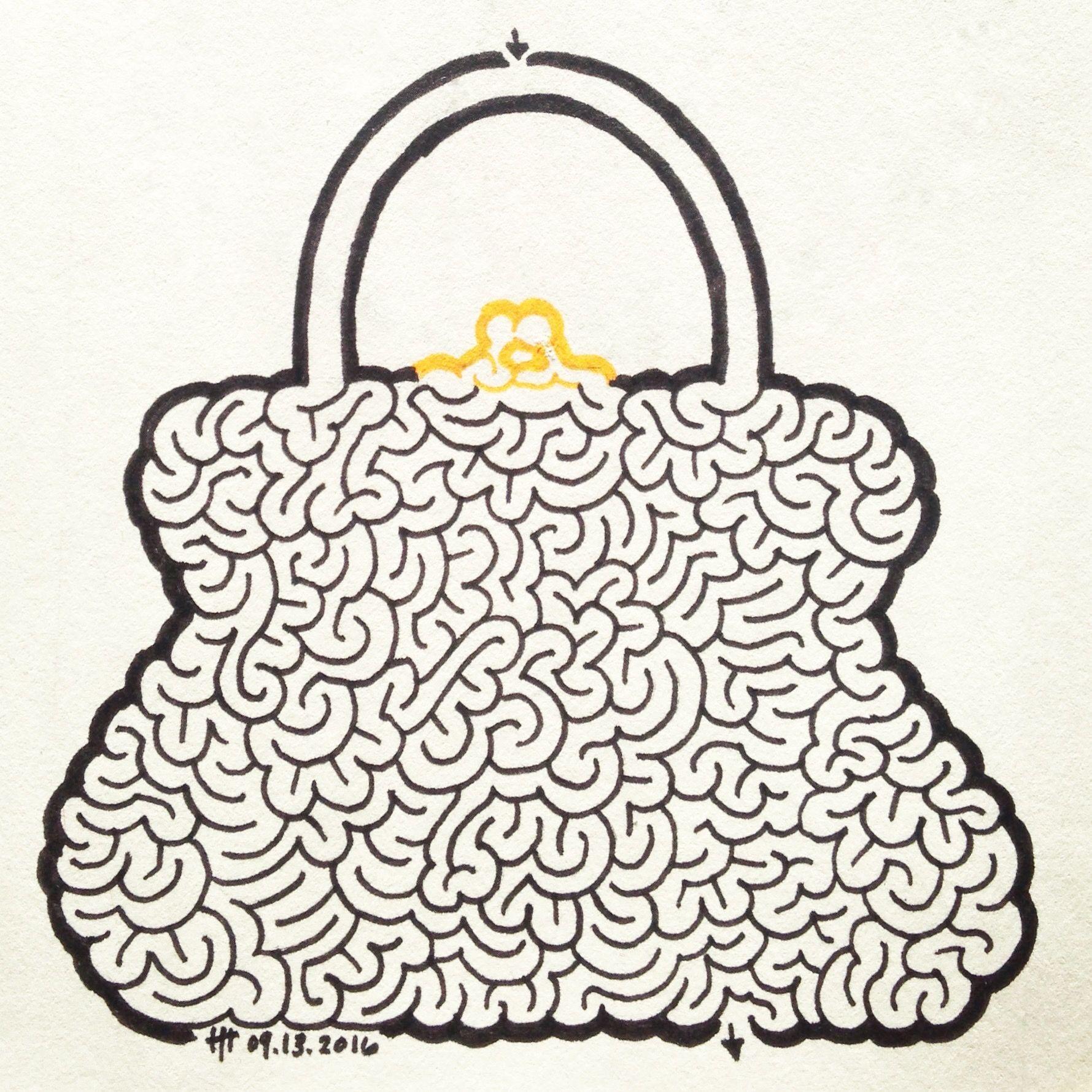 Lady Labyrinth Brain Maze Heather Hoesl Con Imagenes