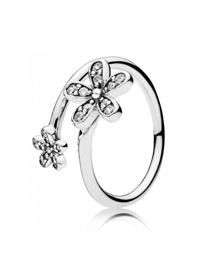 ee2245b58 Pandora Daisy Flower Ring | pandora rings | Pandora rings, Daisy ...