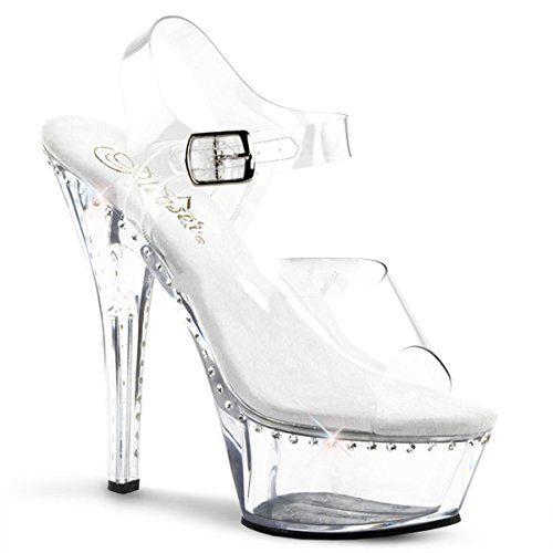 Pleaser Kiss-208LS - Sexy Stiletto Plateau High Heels Sandaletten 35-45 -  http