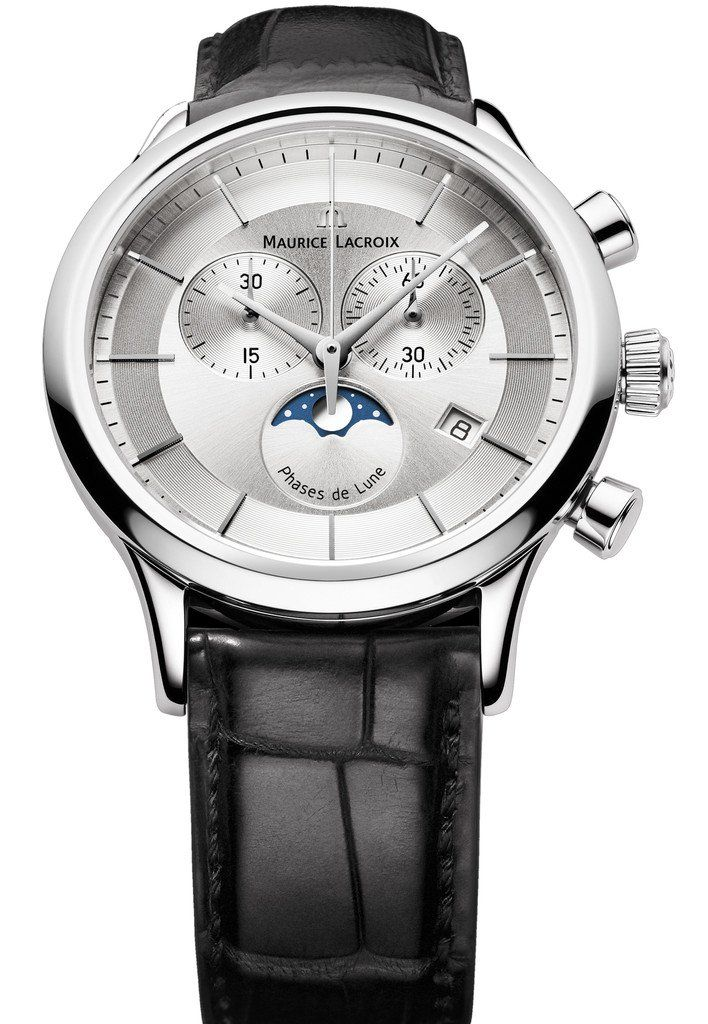 @mauricelacroix Watch Les Classique Gents Moonphase Chrono #bezel-fixed #bracelet-strap-alligator #brand-maurice-lacroix #case-material-steel #case-width-40mm #chronograph-yes #date-yes #delivery-timescale-call-us #dial-colour-silver #gender-mens #limited-code #luxury #moon-phase-yes #movement-quartz-battery #official-stockist-for-maurice-lacroix-watches #packaging-maurice-lacroix-watch-packaging #sku-ml-708 #subcat-les-classiques #supplier-model-no-lc1148-ss001-131-1…
