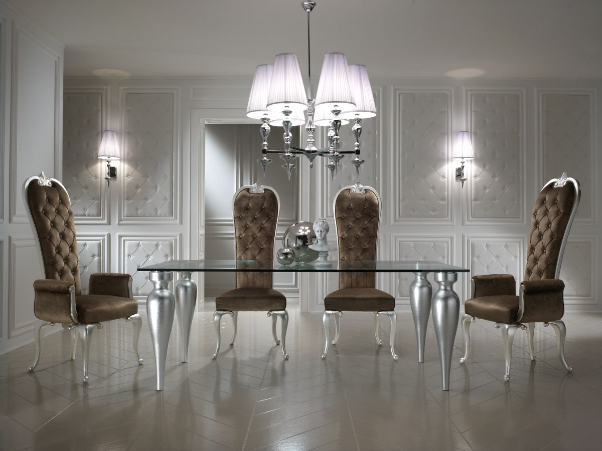 Silver Dining Room Set 1000 Images About Luxury Dining Room Collection On Pinterest