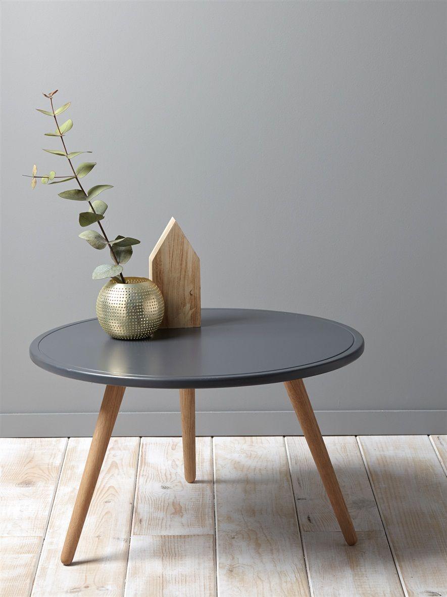 Table Basse 3 Pieds La Maison Vetement Et Deco Cyrillus Table Basse Table Basse Style Scandinave Table Basse Bois