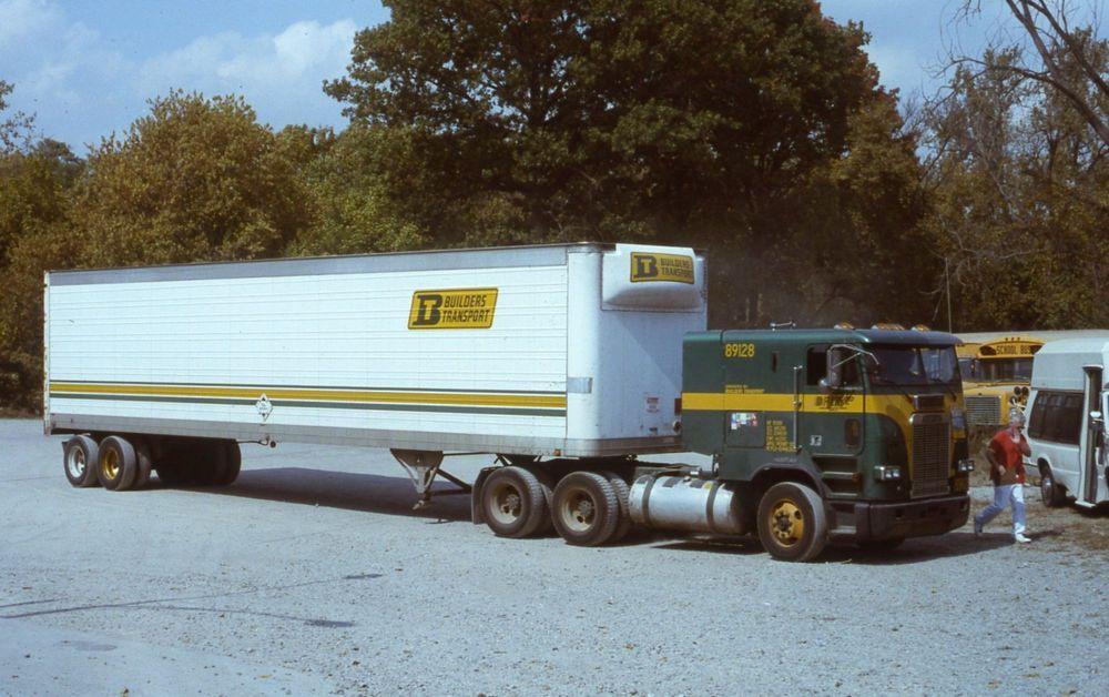 Tractor Trailer Rings : Builders transport freightliner truck tractor trailer