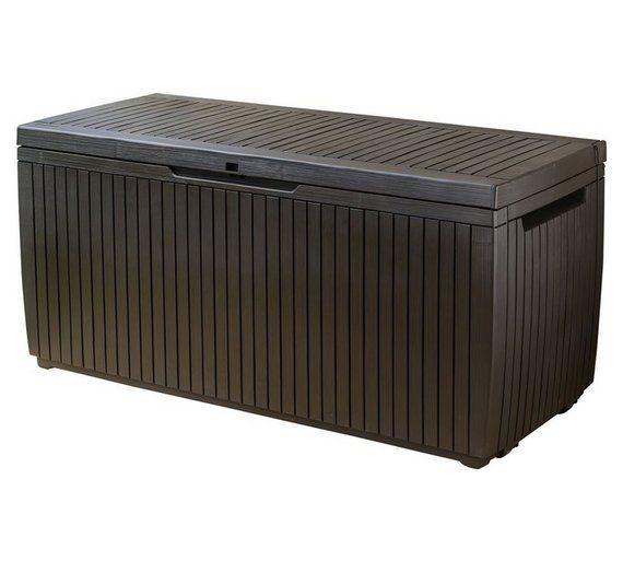 Buy Keter Springwood Garden Storage Box at Argos.co.uk, visit Argos ...