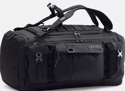 dc3e69933 Under Armour Project Rock Range Duffel Bag - Black | Bags