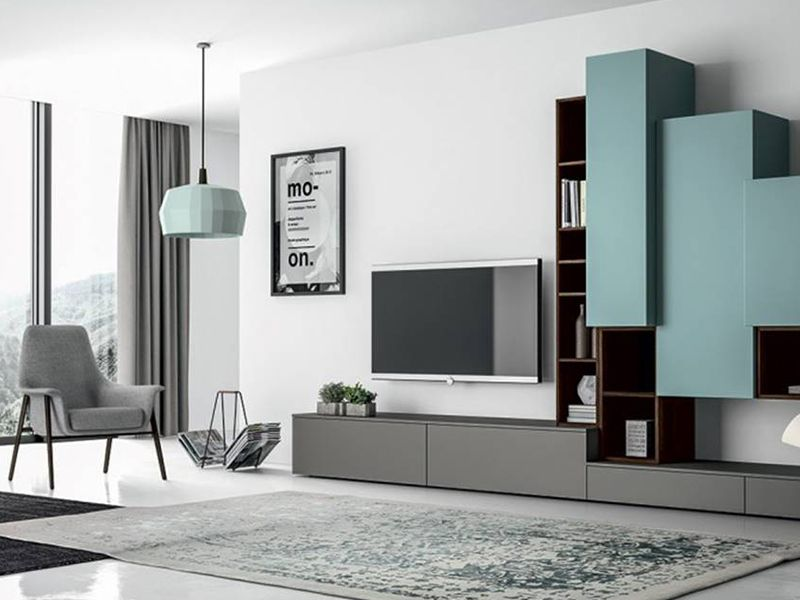 Grupo zwark muebles italianos modernos para casa y for Conjunto muebles oficina