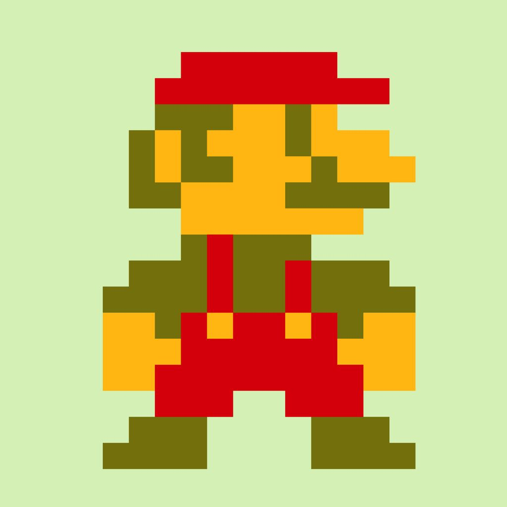 Old Super Mario Broschristian Fearing God Man Forefather ...