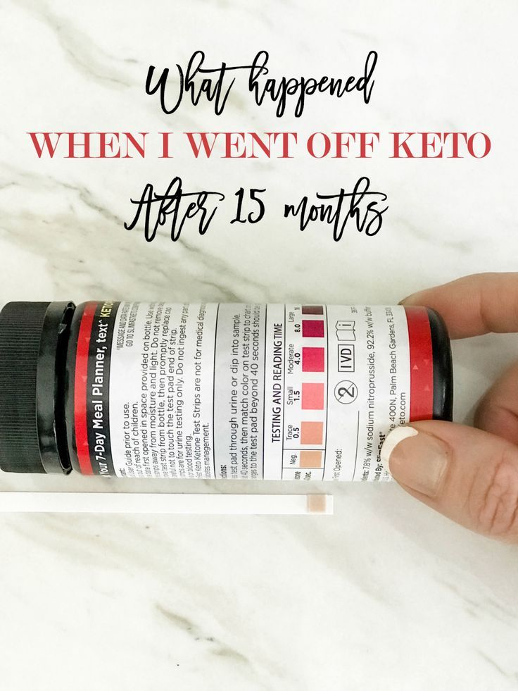 Keto diet what happened when i went off keto after 15