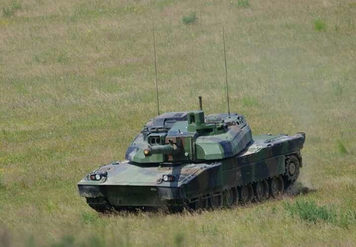 """""""Leclerc"""" French tank"""