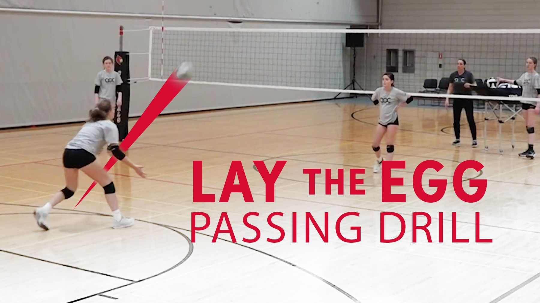 Lay The Egg Passing Drill The Art Of Coaching Volleyball Volleyball Practice Volleyball Workouts Coaching Volleyball