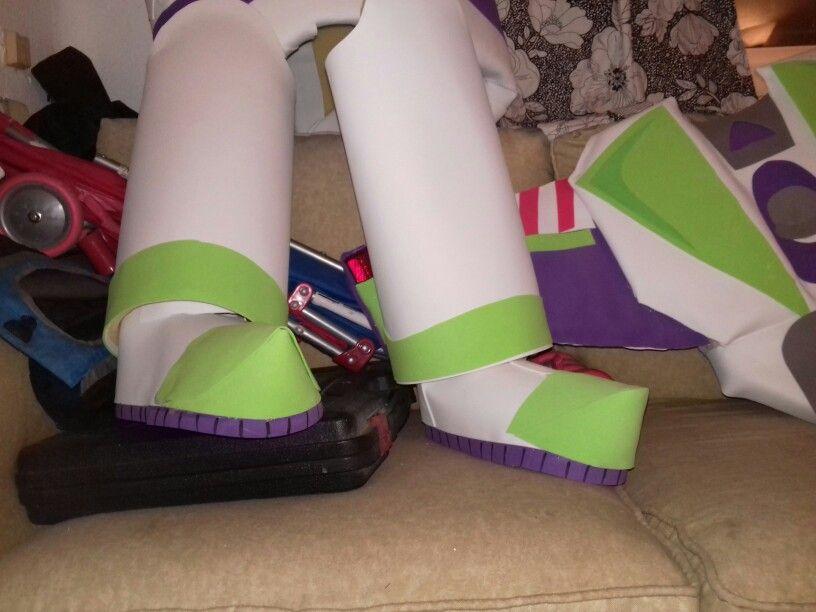 Buzz lightyear  Costume with Foam