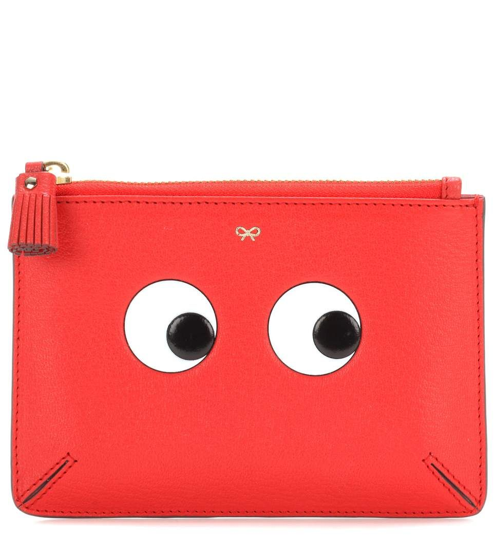 Clearance Top Quality Buy Online Blue Loose Pocket Eyes Pouch Anya Hindmarch Marketable For Sale Outlet Sast With Paypal For Sale QgnK6ZQDTQ