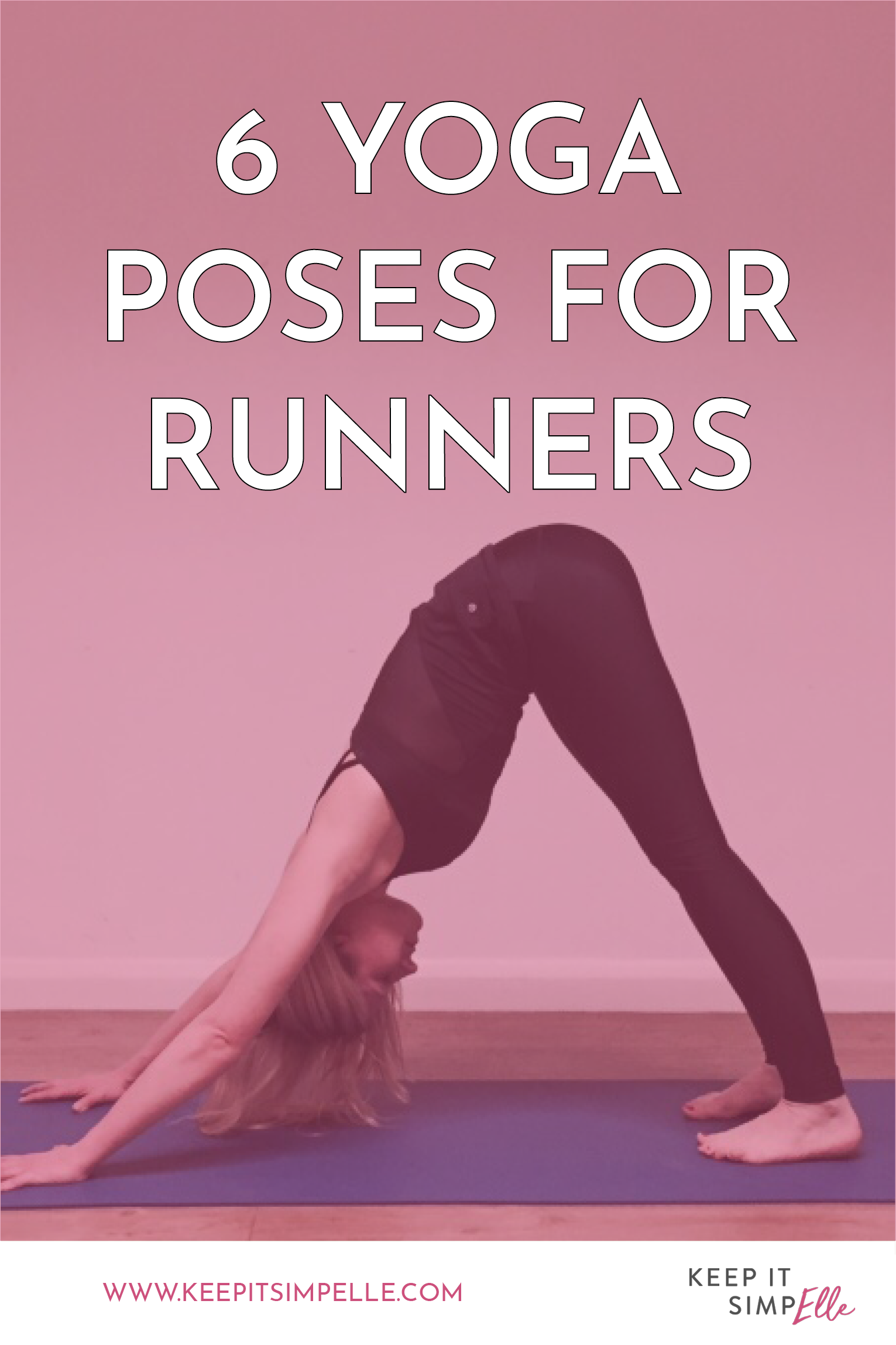 Guest Post: 6 Yoga Poses for Runners   Stretch   Yoga, Pole