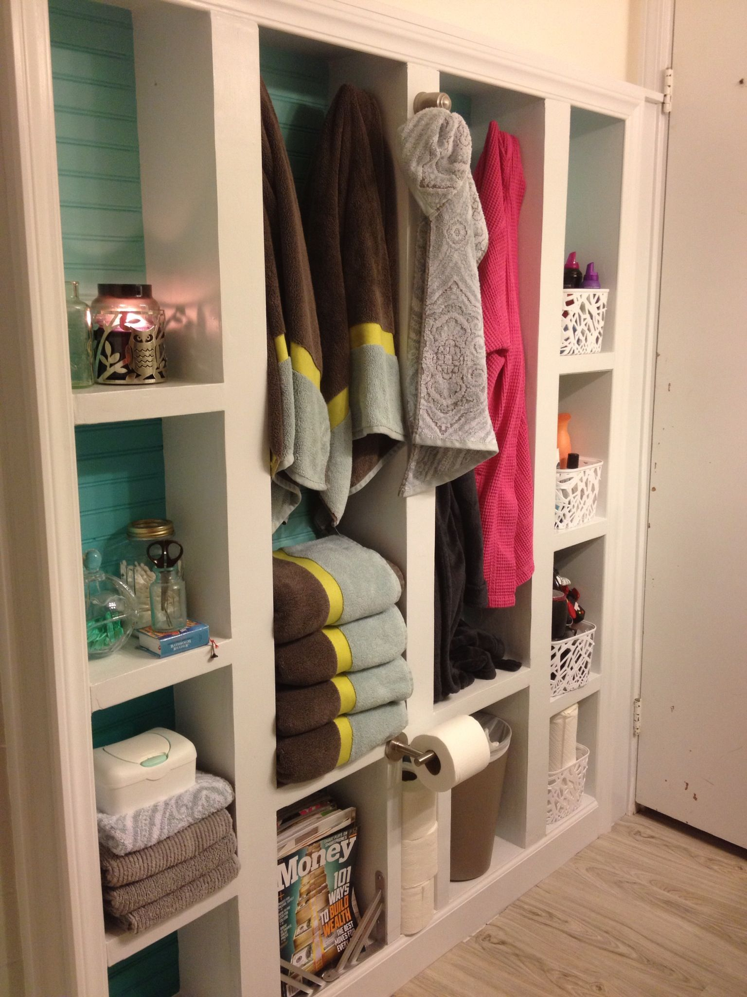Built In Bookcase Extra Bathroom Storage With Built In Bookcase Boxes Were Built In