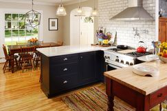 Small Kitchen Innovation by Nathan Taylor for Obelisk Home http://www.wayfair.com/Shop-The-Look/Gallery/Small-Kitchen-Innovation-G22929?refid=SBP