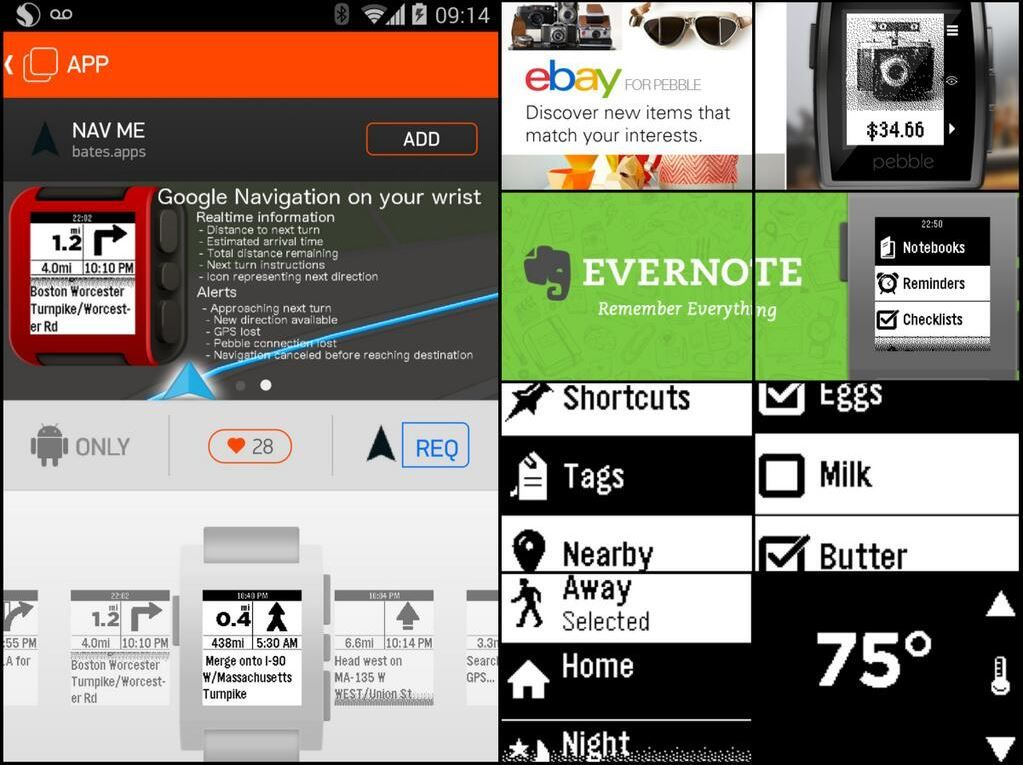Pebble 2.0 Android App with Watch Appstore and Revamped UI Now Available (Changelog, Screenshots) http://www.smartkeitai.com/pebble-2-0-android-app-with-watch-appstore-now-available-changelog-screenshots/