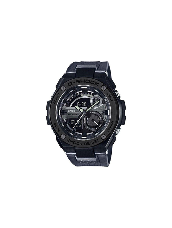 Casio gst210m1a gshock g steel series black color watch