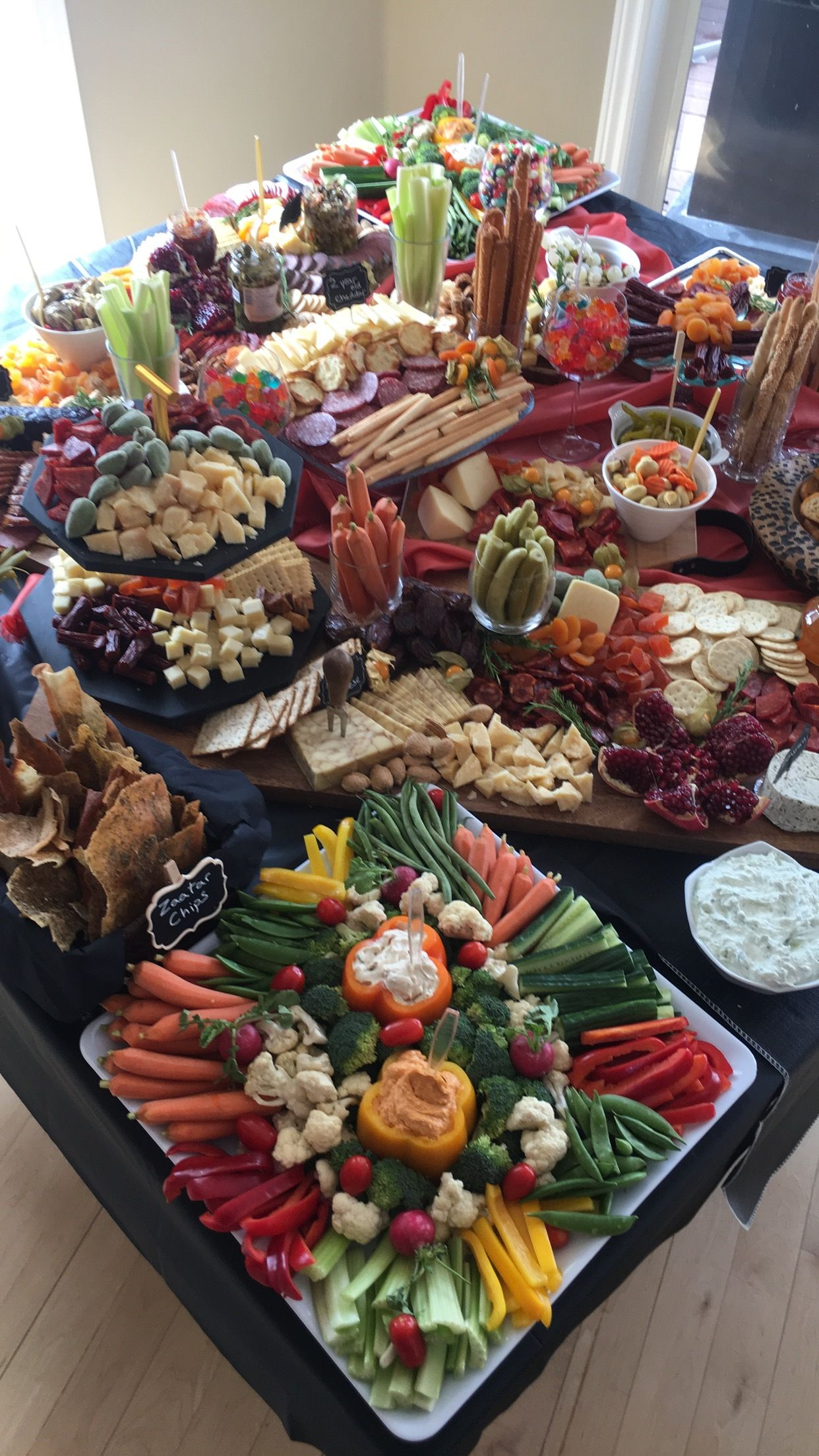 Buffet Party Grazing Table Ideas Party Food Food Appetizers Food