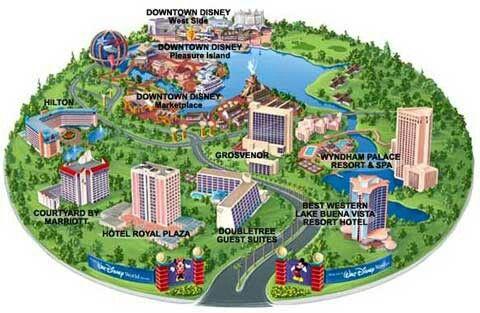 downtown disney resort area