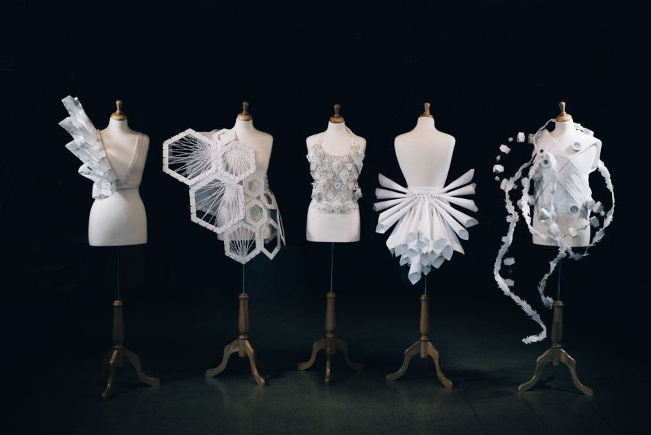 Student artists create gorgeous wearable sculptures for dancers with disabilities #wearableart
