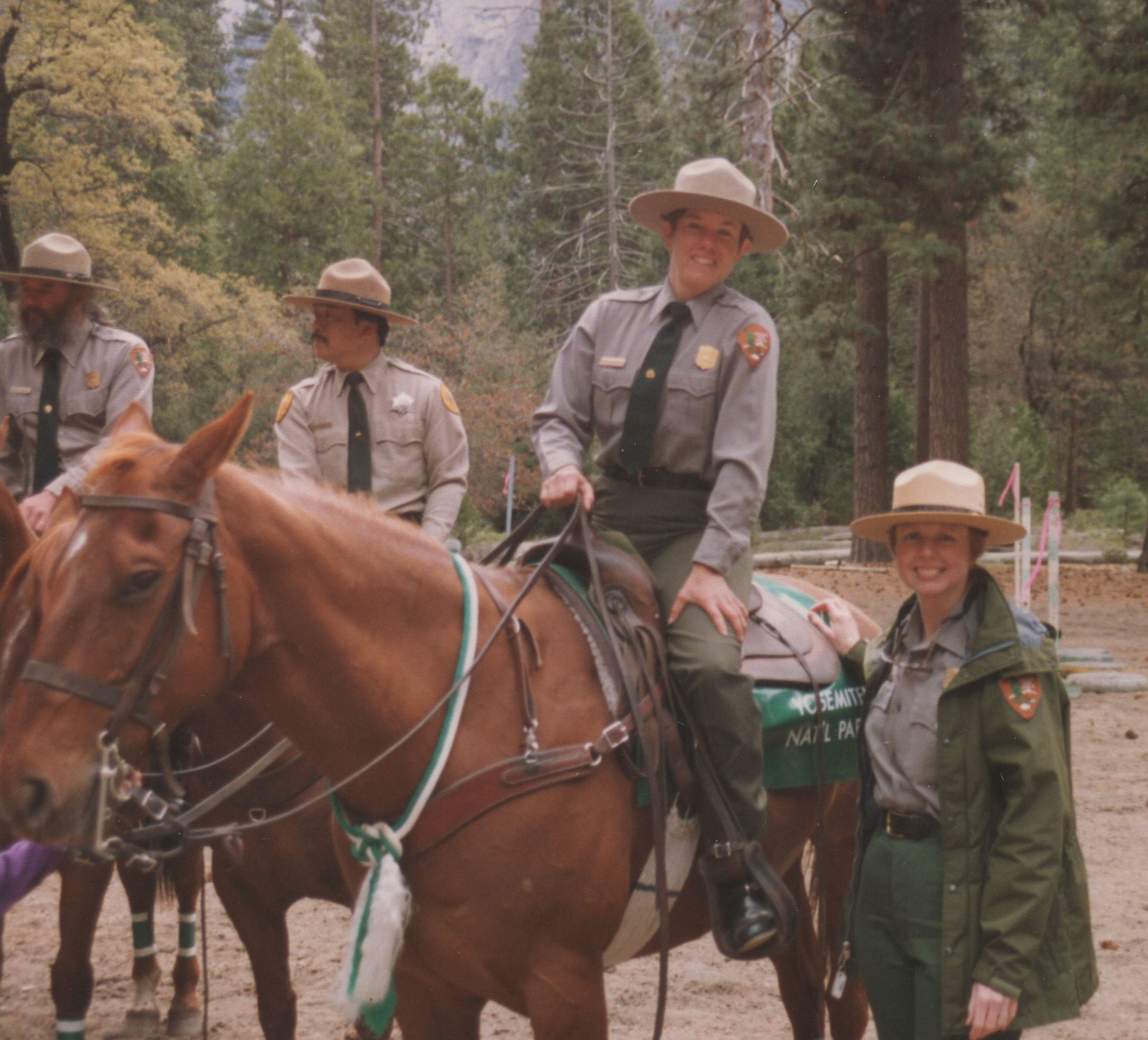 Andrea Lankford Horse Patrol Graduation Yosemite National