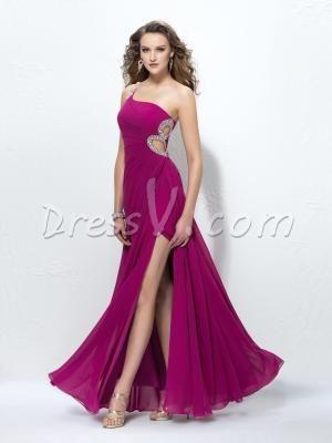dressv.com SUPPLIES Glamorous A-Line One-Shoulder Sequins Prom Dress  Prom Dresses 2014 (2) by James N. Salley