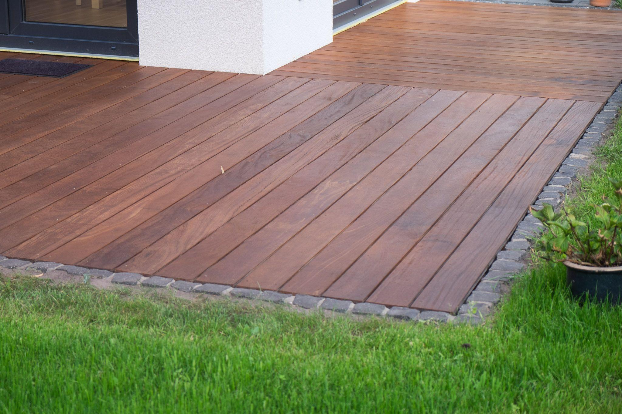 High Quality Holzterrasse U2013 Ein Haus Für Den Zwerg