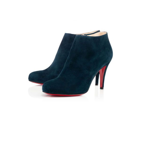 Christian Louboutin Belle 85 mm Ankle Boots Blue Khol CW20131026
