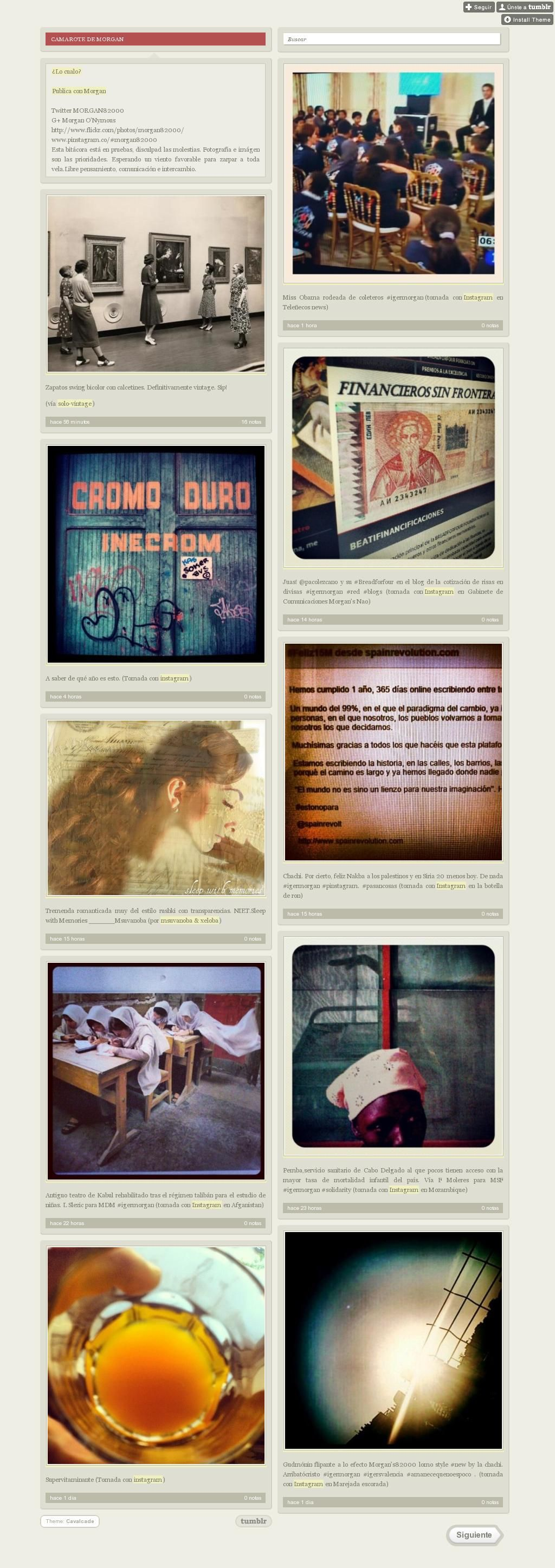 The website 'morgan82000.tumblr.com' courtesy of Pinstamatic (http://pinstamatic.com)