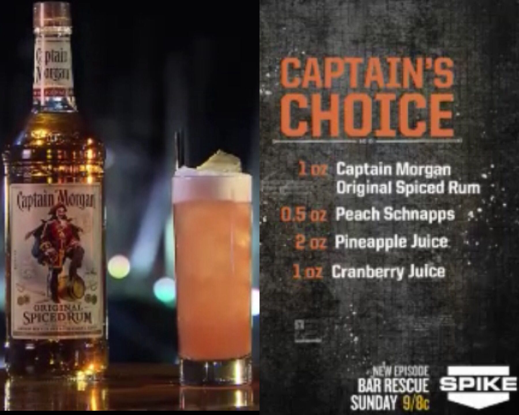 Captain39s Choice As Seen On Bar Rescue Bar Rescue Drinks