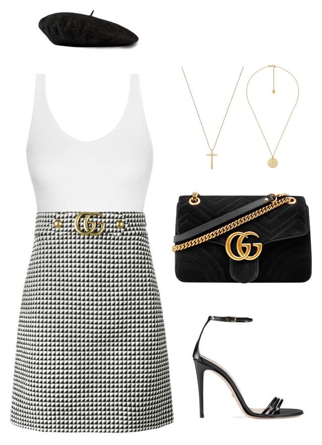 """GUCCI COS IM EXTRA"" by thestylefilesx ❤ liked on Polyvore featuring Gucci"