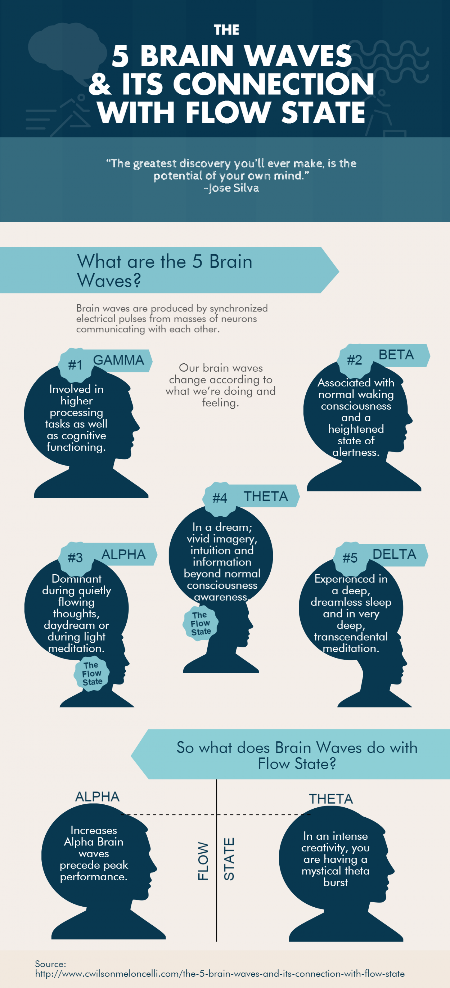 Essay On Conformity The  Brain Waves And Its Connection With Flow State Infographic Miss Julie Essay also Essay About Civil Rights The  Brain Waves And Its Connection With Flow State Infographic  Examples Of Good Hooks For Persuasive Essays