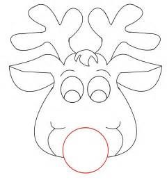 reindeer template cut out.html