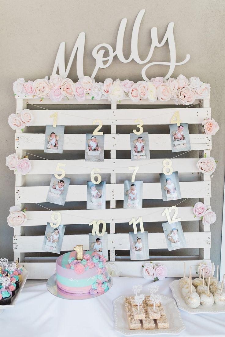 Molly the Unicorn Ali FedotowskyMannos Baby Girl Turns 1 with a