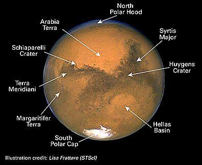 mars facts planet mars exploring mars pinterest planets rh pinterest com Planet Mars Line Mars Label