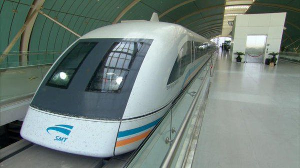 ScienceChannel: The innovative Maglev train can move up to 267 miles per hour using magnetic levitation.  https://t.co/IWca8l0O3m