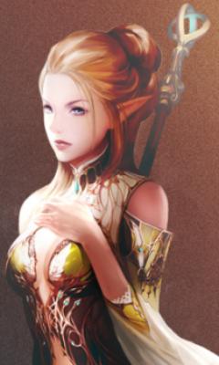 Elf - Lineage II artwork page — Tweeria 2 3 2b — Lazy Twitter RPG