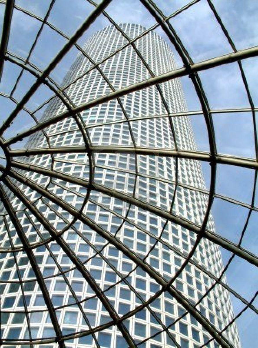 Best Stock Photo Glass Roof Modern Glass Skyscraper 640 x 480