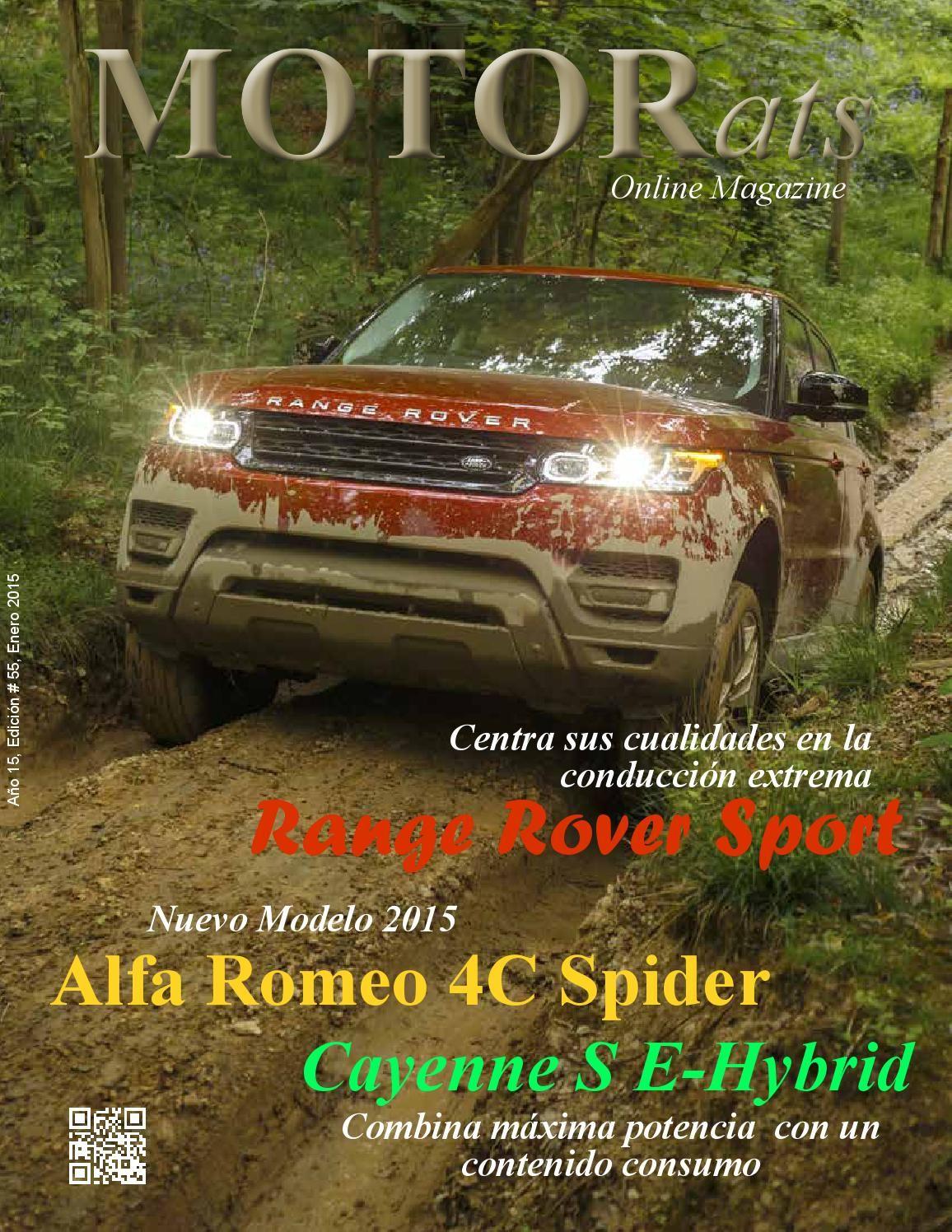 Motorats Online Magazine # 55  Revista especializada en la industria automotor.