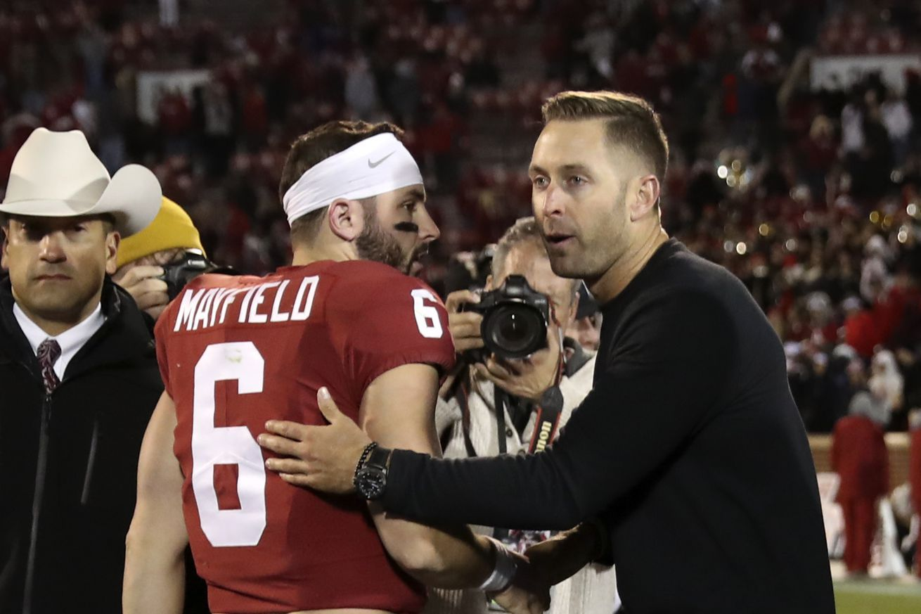 Baker Mayfield's beef with Kliff Kingsbury could be even