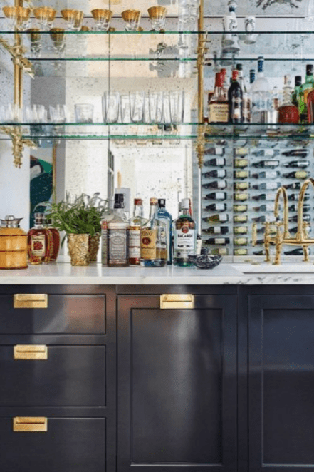 32 Home Bars That Are Ready To Party Home Bar Designs Bars For Home Bar Design