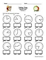 Telling Time Activity Have Fun Teaching Time Worksheets Kindergarten Telling Time Clock Worksheets
