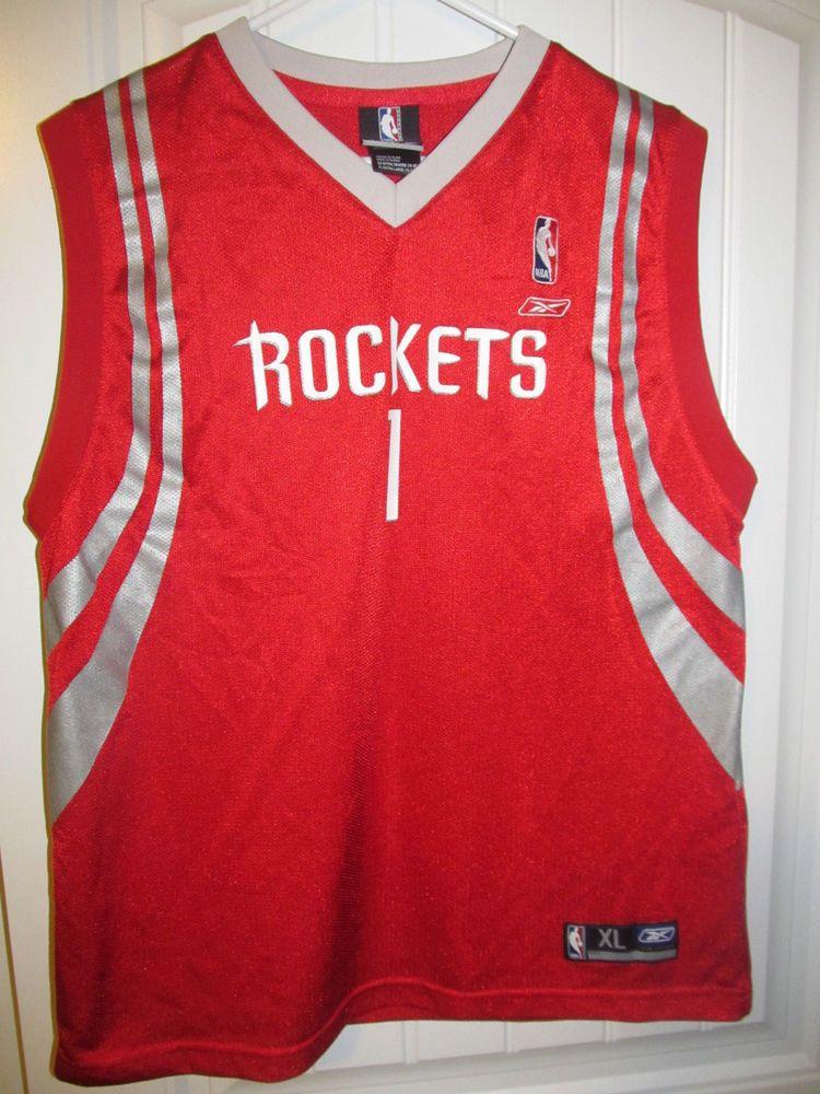 c5b7f34281c Tracy McGrady - Houston Rockets jersey - Reebok Youth XL  Reebok   HoustonRockets