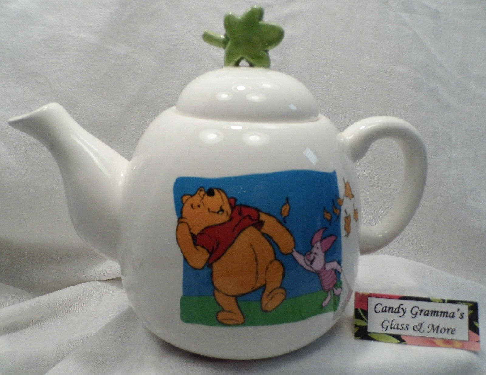 Collectible Disney Winnie the Pooh and Piglet tea pot by Teasure