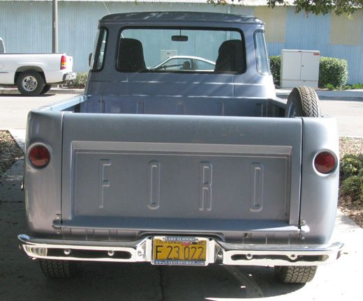 Ford Econoline Pick Up 1961 Ford Econoline Pickup Cars For