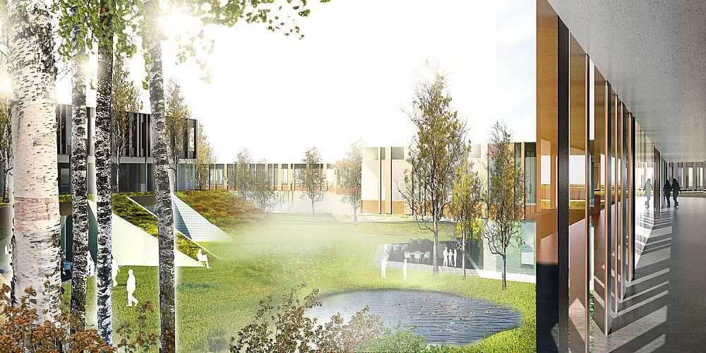 GAPS – new psychiatric hospital in Slagelse C F  Møller
