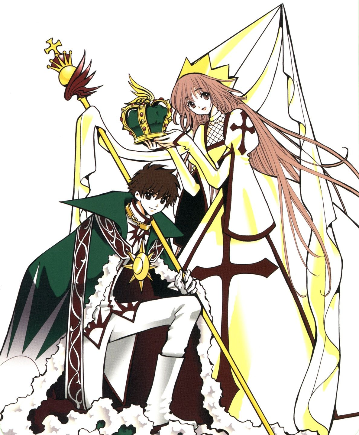 Tags: Tsubasa: RESERVoir CHRoNiCLE, CLAMP, CLAMP In